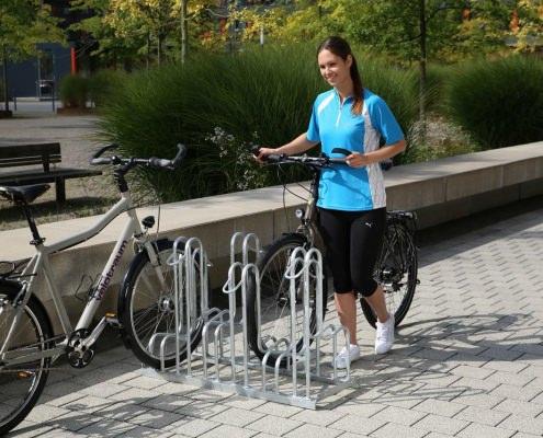 Fahrradparksysteme von Uwe Jaekel