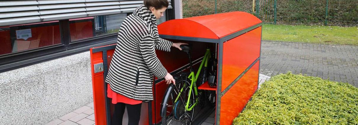 Fahrradgaragen von Uwe Jaekel
