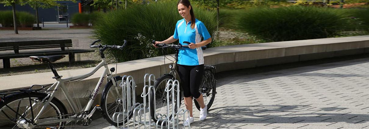 Fahrradständer von Uwe Jaekel