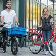 Transportfahrräder von Uwe Jaekel