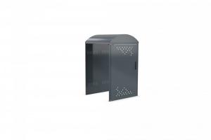 RollatorBox mit Bogendach - Anbaueinheit ohne Seitenwand