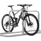 Fahrradanlehnbügel Galaxy mit Fahrrad