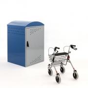 Rollatorbox mit Rollator