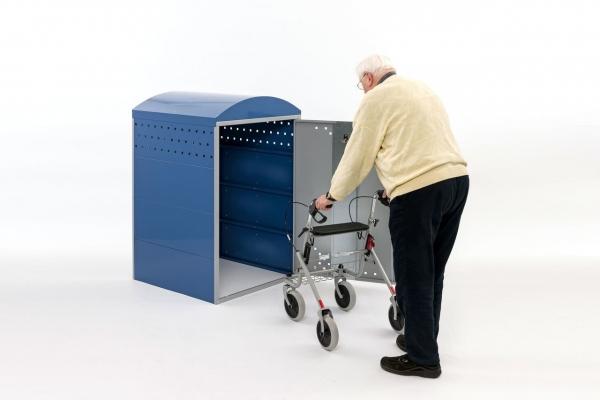 Rollatorbox geöffnet