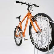 Fahrradständer Modell 4000 mit eingestellten Fahrrädern