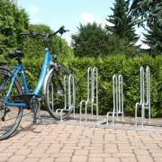 Fahrradständer Modell 4000 mit eingestelltem Fahrrad