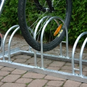 Fahrradständer Modell 5000 mit eingestelltem Fahrrad