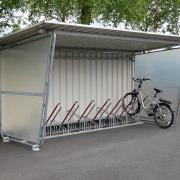 Überdachung Siegen für Fahrradständer