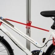 Fahrradparksystem Spacer - Detailaufnahme