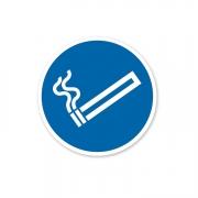"""Zubehör Aufkleber """"Rauchen erlaubt"""""""