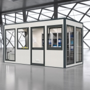 Raumsystem SmartUnit in Lagerhalle