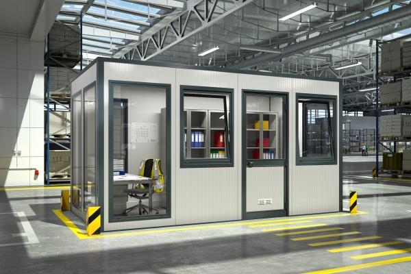 Anwendungsbeispiel der SmartUnit in einer Produktionshalle