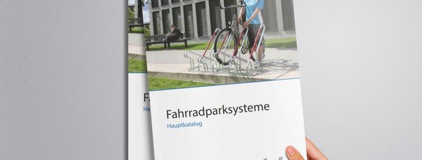 Katalog Fahrradparksysteme Mockup