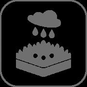 Vorteile von GreenPlus - Wasserspeicherung
