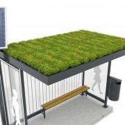 GreenPlus Dachbegrünung auf Überdachungssystem