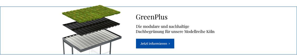 Dachbegrünungssystem GreenPlus